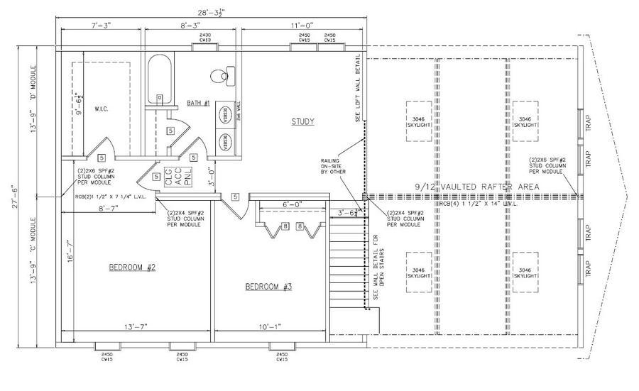 Apollo 2090 Square Foot Cape Floor Plan