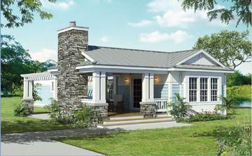Seneca nas 945 square foot ranch floor plan for Seneca custom homes
