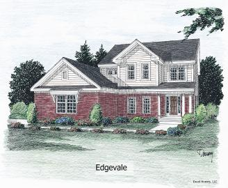 Edgelvale 2594 square foot two story floor plan for Express modular pricing