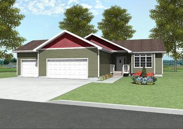 Brookings ii 1380 square foot ranch floor plan for Express modular pricing