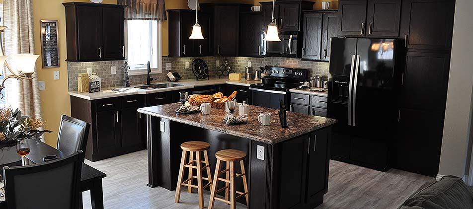 Modular Home Custom Kitchen